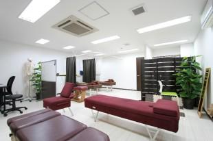 さかた鍼灸整骨院内装施工