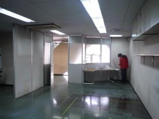 あさがお整骨院内装工事前 (2)